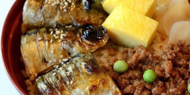 ข้าวหน้าปลาซาบะย่าง